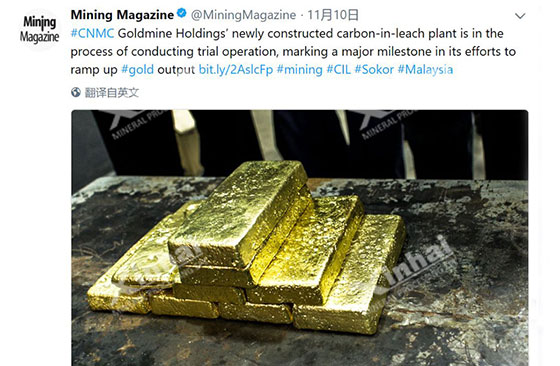 report-about-Malaysia-700tpd-gold-CIL-project