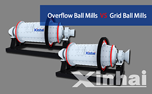 Comparison between Overflow Ball Mills and Grid Ball Mills
